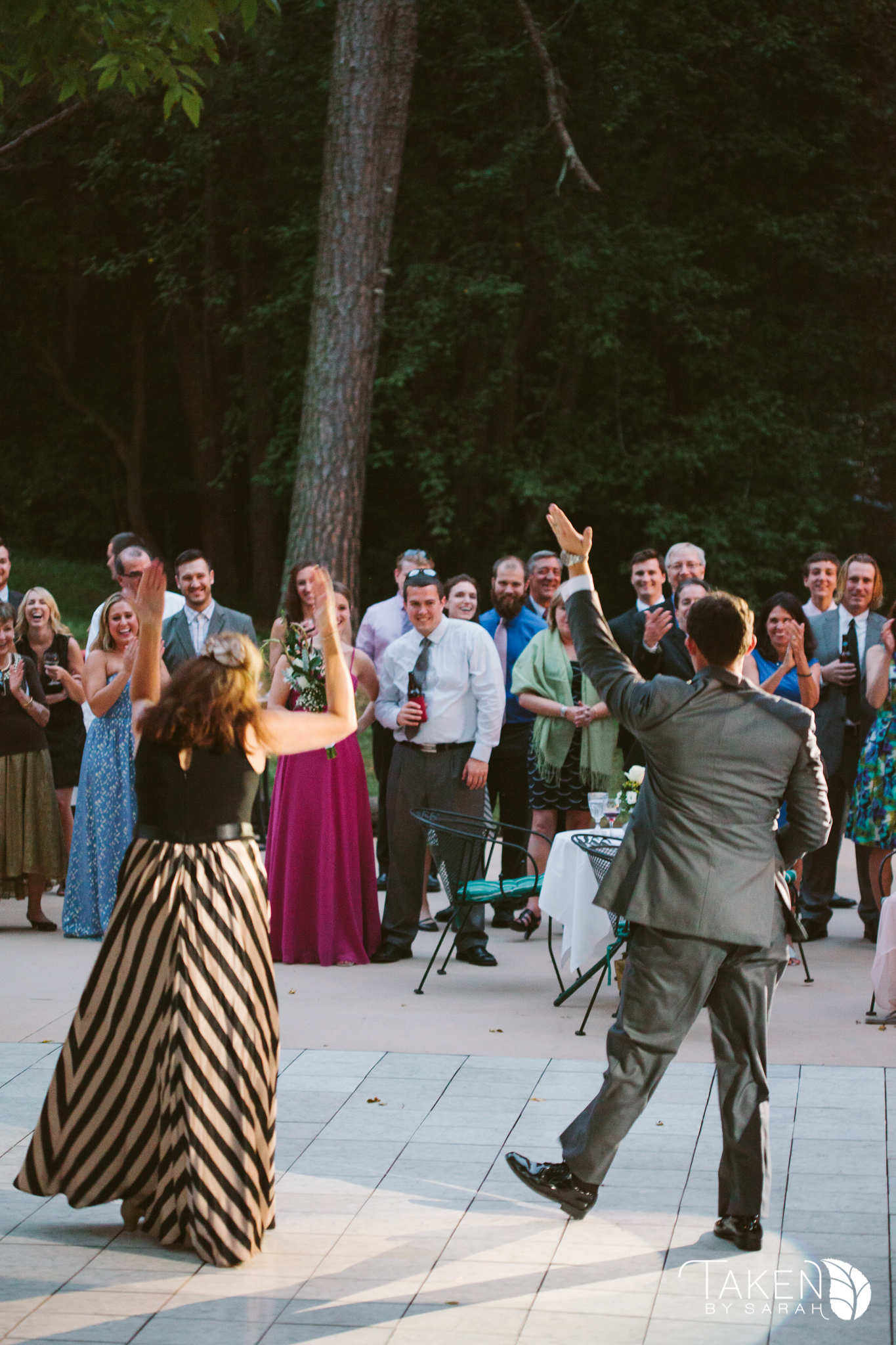 Noise at wedding